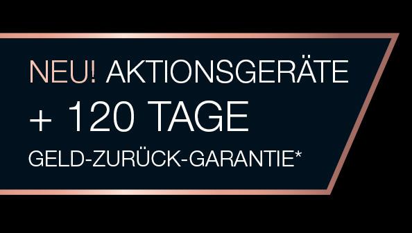 120 Tage Geld-zurück-Garantie